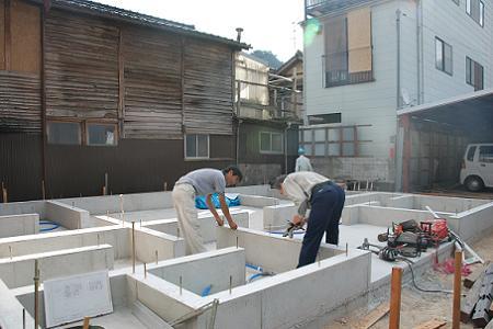 鳥取の建築家 PLUS CASA xylo-:no.06 基礎工事