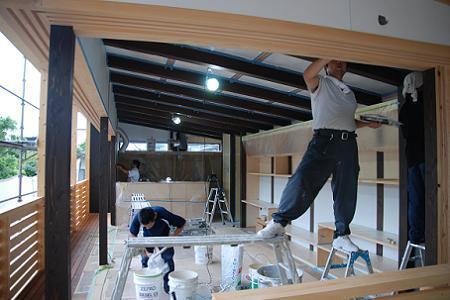 鳥取の建築家 PLUS CASA xylo-:no.05 内装工事