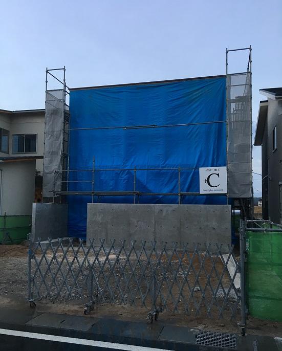 鳥取の建築家 PLUS CASA/case-Y/T 上棟
