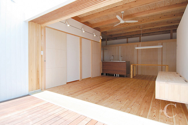 鳥取の建築家PLUS CASA WORKS - case-H/A