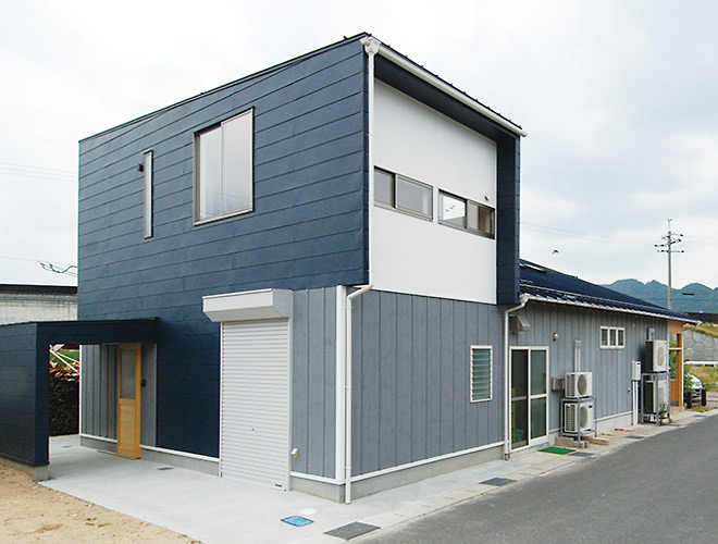 鳥取の建築家PLUS CASA case-I/I