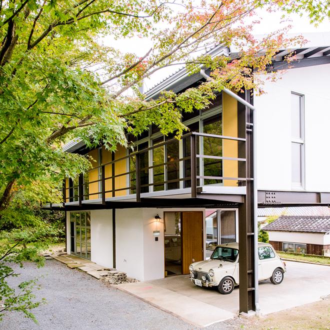 鳥取の建築家 PLUS CASA case-F/R